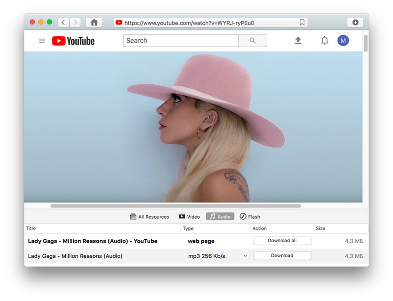 YouTube music downloader mac