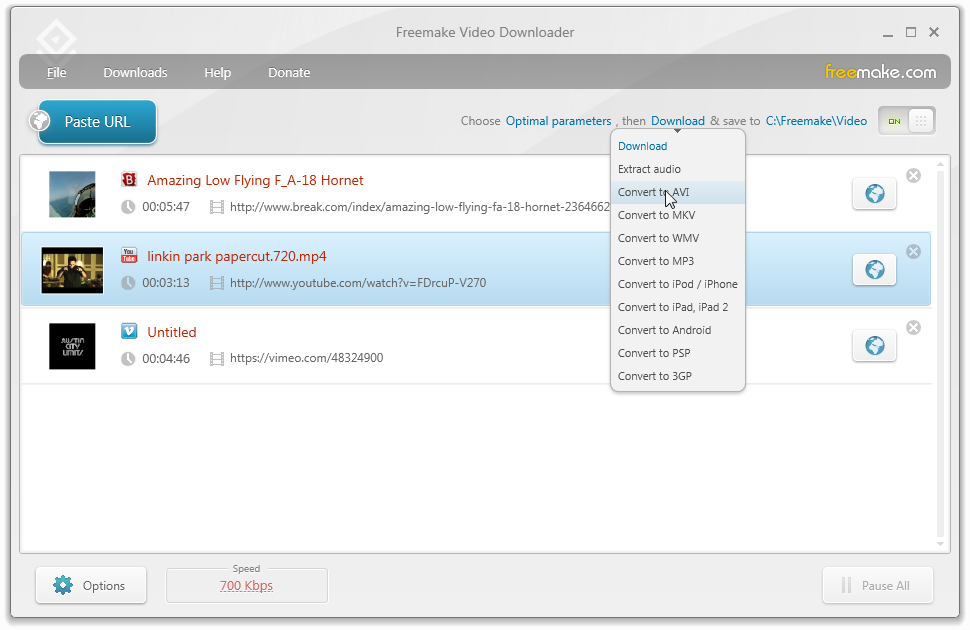 windows vevo video downloader