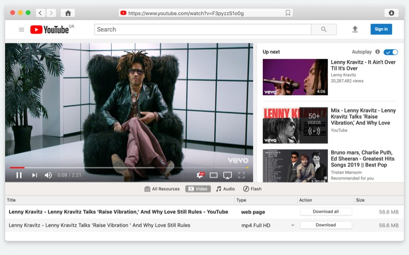 vevo video downloader for mac