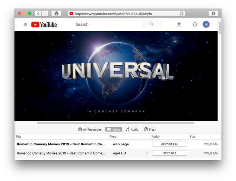 downloader youtube movies mac