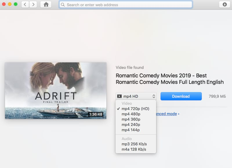 downloader HD movies mac
