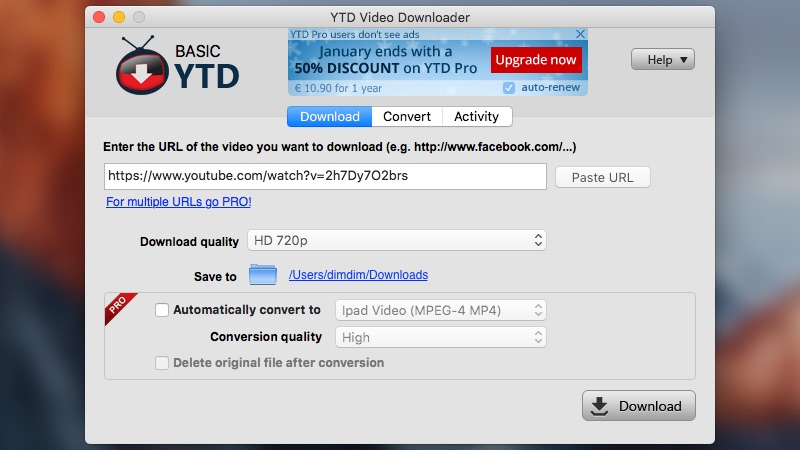 youtube 4k video downloader for mac
