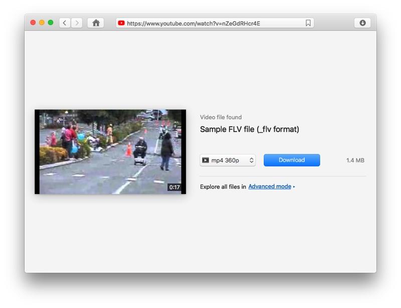 How to choose FLV video downloader for Mac?