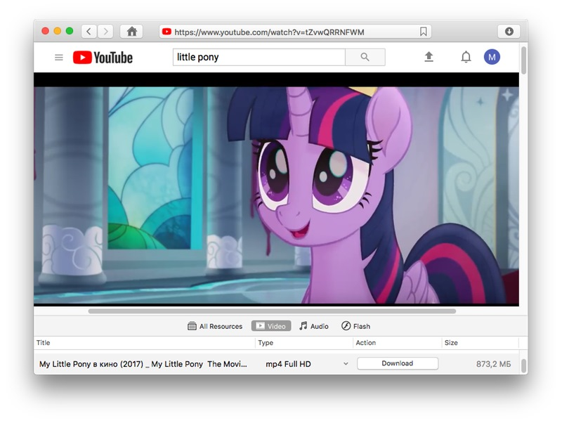 How to download cartoons on Mac