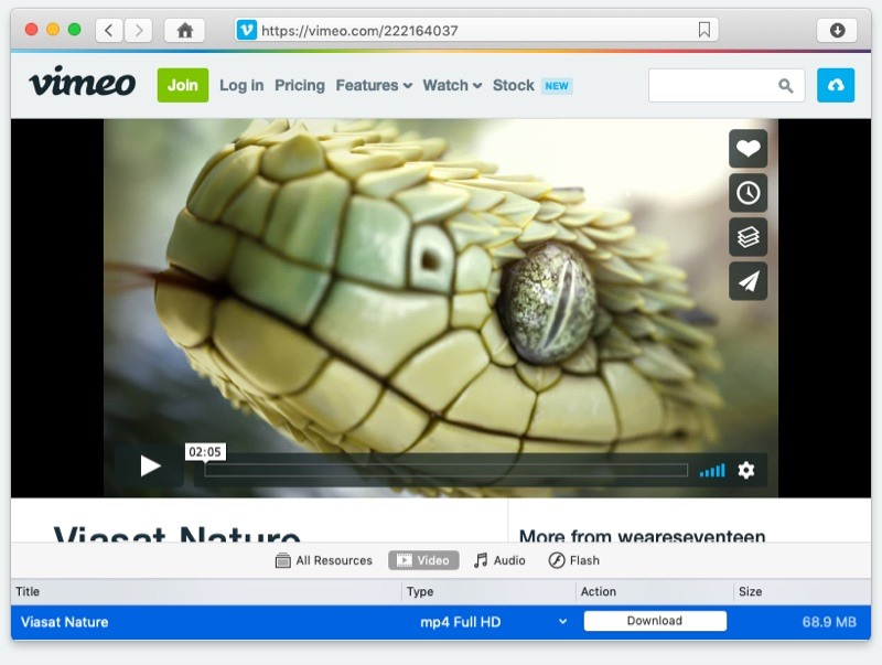 VideoDuke, Vimeo video downloader mac